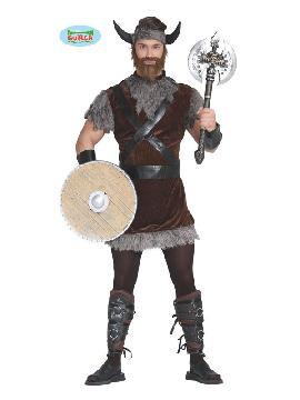 disfraz de vikingo nordico hombre