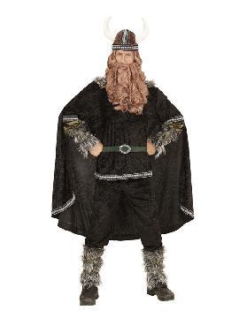 disfraz de vikingo valeroso para hombre