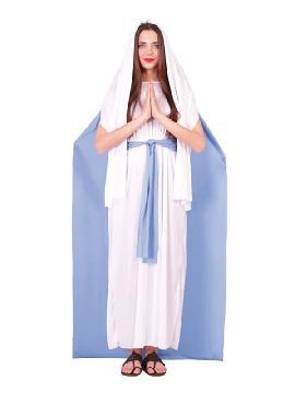 disfraz de virgen maria para mujer