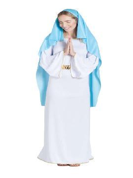 disfraz de virgen mujer adulta