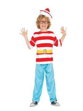 disfraz de wally marinero niño