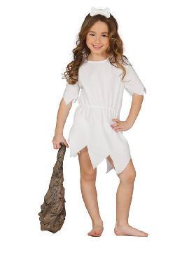 disfraz de wilma blanco niña
