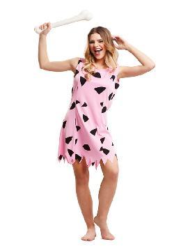 disfraz de wilma rosa para mujer