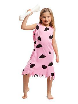 disfraz de wilma rosa para niña