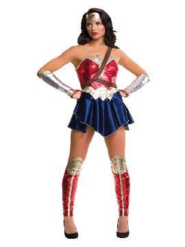 disfraz de wonder woman liga de la justicia mujer