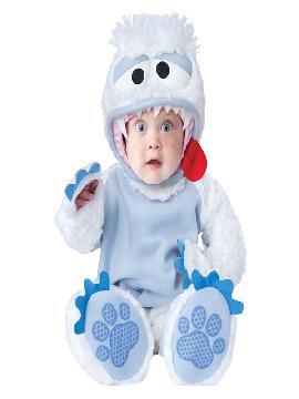 disfraz de yeti para bebe