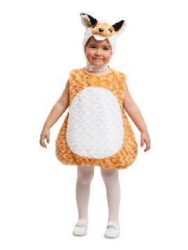disfraz de zorro de peluche niño