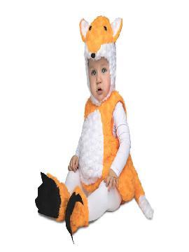 disfraz de zorro peluche bebe