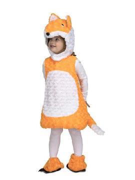 disfraz de zorro peluche para niños