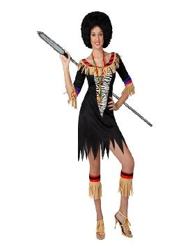 disfraz de zulu para mujer