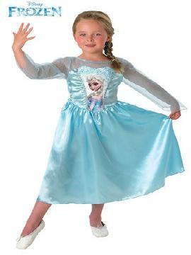 disfraz elsa frozen niña varias tallas. Por tanto, en pantalla aparecen Anna, Elsa, Kristoff y el simpático Olaf, y la historia se centra en las preparaciones del cumpleaños de Anna, fiesta que se ve amenazada por los poderes de Elsa. Este refinado disfraz de Elsa Frozen es idéntico al que lleva Elsa en el corto
