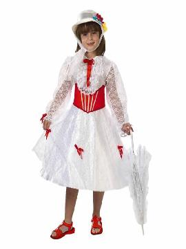 disfraz mary poppins para niña