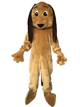 Disfraz mascota de perro orejotas adulto. Te transformará en el chucho más querido de cualquier fiesta. No pares de ladrar, con este traje de mascota de animación, mover la colita y corretear en todas las Fiestas de Carnaval y eventos comerciales. fabricación nacional