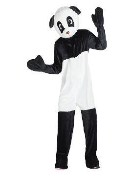 disfraz mascota oso panda para hombre adulto