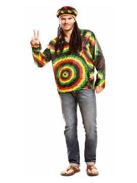 disfraz o camisa de jamaicano para hombre