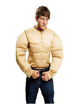 disfraz o camiseta musculoso para hombre