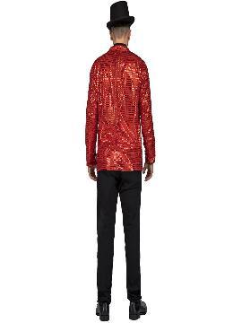 disfraz o chaqueta con pajarita roja hombre