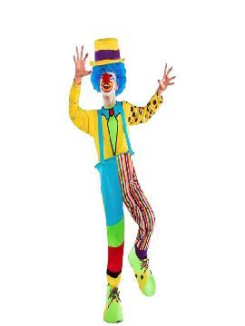 disfraz payaso del sol para niño infantil. Este comodísimo traje es perfecto.para carnavales, espectáculos, cumpleaños y tambien para las fiesta de los colegios como fin de curso o cualquier otras actividades.Este disfraz es ideal para tus fiestas temáticas de disfraces de payasos del circo,bufones y arlequines para niños infantiles.