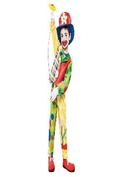 disfraz payaso topos coloridos varias tallas. Este comodísimo traje es perfecto.para carnavales, espectáculos, cumpleaños y tambien para las fiesta de los colegios como fin de curso o cualquier otras actividades.Este disfraz es ideal para tus fiestas temáticas de disfraces de payasos del circo,bufones y arlequines para niños infantiles.