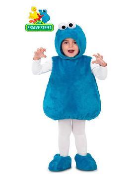 disfraz peluche de monstruo de las galletas niño