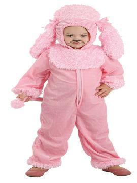 Disfraz perro rosa para bebé. Hará que el más pequeño de la familia quiera ladrar de felicidad. Todos querrán adoptarlo cuando lo vean en Festivales Escolares. Este disfraz es ideal para tus fiestas temáticas de animales para infantil. fabricacion nacional