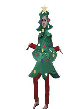 disfraz pino de navidad infantil