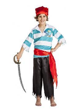 disfraz de pirata loro niño