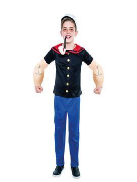 disfraz popeye marino niño