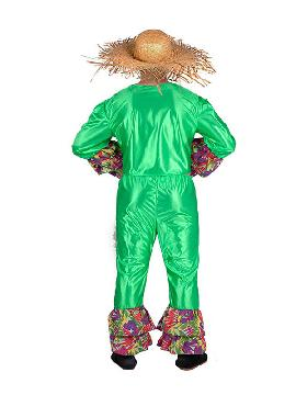 disfraz de rumbero verde hombre