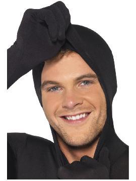 disfraz de morphsuit segunda piel negro hombre