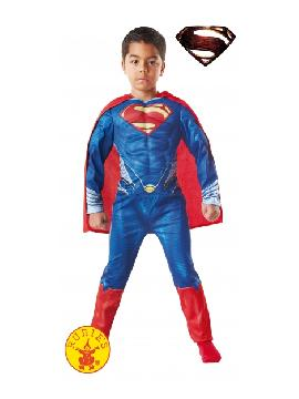 disfraz superman musculoso infantil.No podrás ocultar tu identidad bajo la imagen de Clark kent. Serás el superheroe más completo: rápido, fuerte, poderes de visión...etc. En tus Fiestas Temáticas,