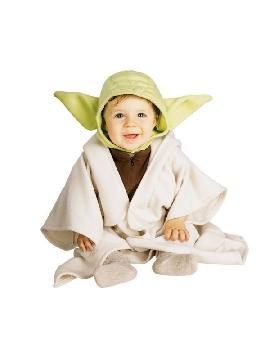 disfraz de yoda bebé