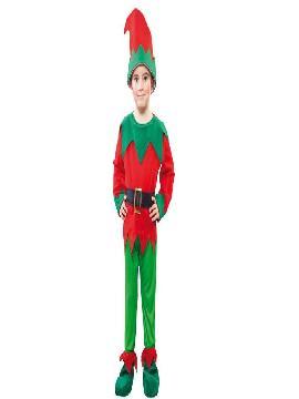 disfraz de duende elfo infantiles de niños varias tallas.Este disfraz es ideal para tus fiestas temáticas de disfraces cuentos populares,famosos y musicos para niños infantiles.