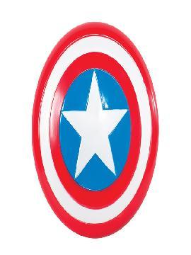 escudo de capitan america retro infantil