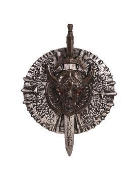escudo y espada guerrero 53x74 cm