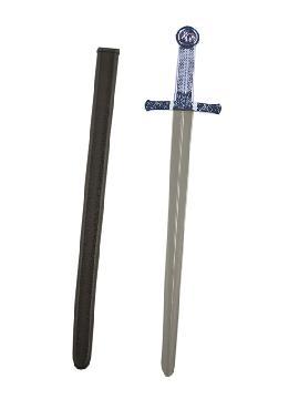 espada de caballero azul infantil 63 cm