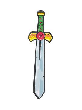 espada de caballero goma eva 50 cm