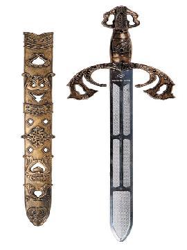 espada guerrero medieval 60 cm