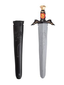 espada guerrero medieval plastico