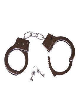 esposas de metal para policia con llaves