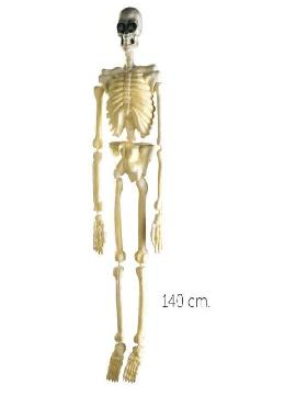 esqueleto fluorescente para colgar 140cm