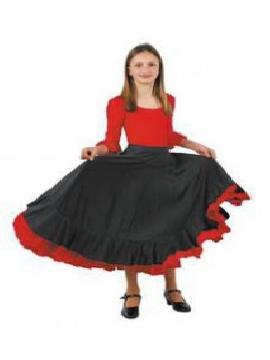 falda andaluza volantes niña infantil 10 a 12 años