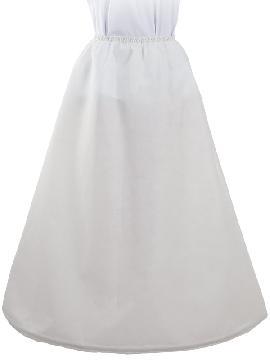 falda can can con aro para adulto