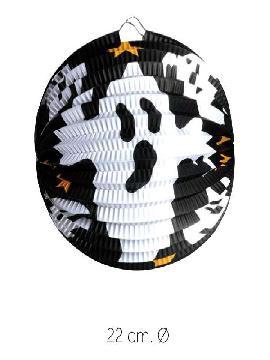 farol esferico fantasma 22cm bolsa 12 unds