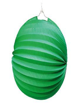 farolillo verde esférico 26 cm para decorar. Comprar vuestro farolillo barato para vuestras mejores fiestas de cumpleaños con grupos de amigos o familiares.