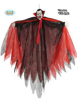 figura colgante de vampiro rojo con luz