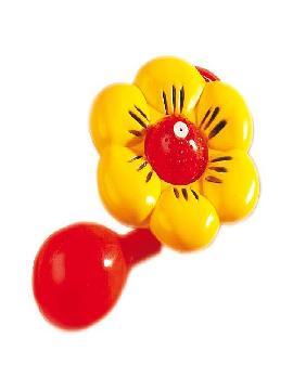 flor de payaso lanza agua