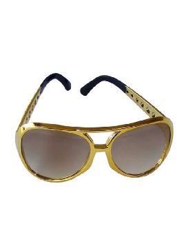 gafas de elvis cristas amarillo