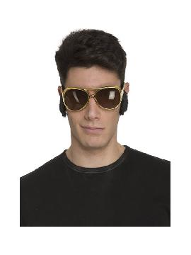 gafas de elvis con patillas