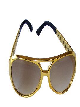 gafas de elvis rey del pop plastico